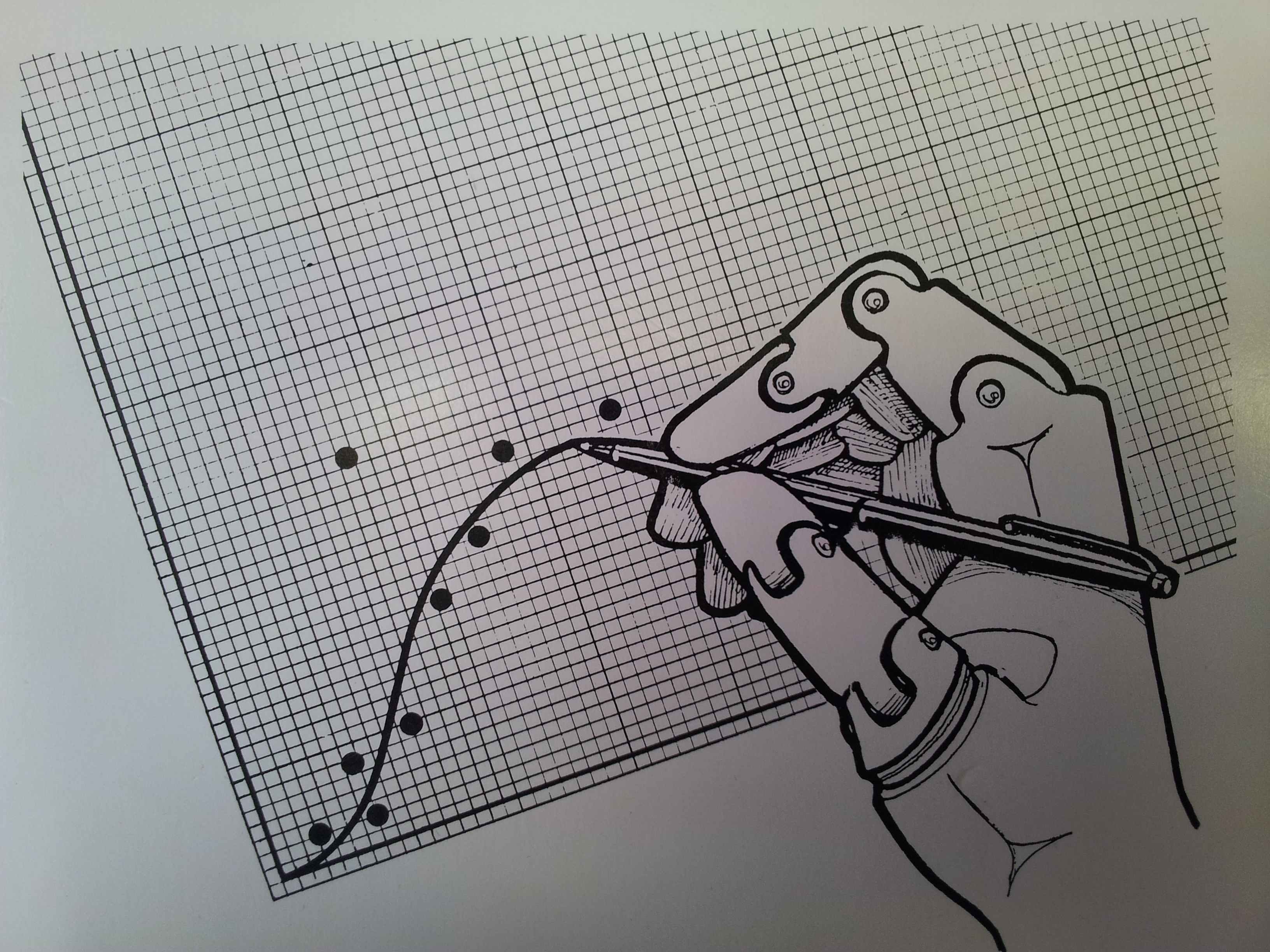 Drawing Line Graphs By Hand : The future of artificial intelligence as imagined in