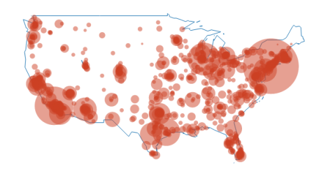 Online R And Plotly Graphs Canadian And US Maps Old Faithful - Us map in r